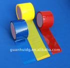 white,red,yellow color bopp packing tape