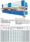 W67Y 2-Sets of Tandem Hydraulic Press Brake/Hydraulic Press Brake Machine