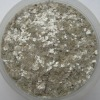 Silver mica flakes