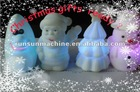 2012 new lovely cartoon Christmas night light /LED flashing night light for Christmas /christmas gift