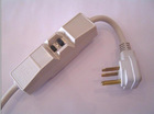 Yuadon Brand UL Approve Hospital Grade Cord-grip extension cord with switch