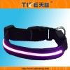 Flashing lights dog collar TZ-PET5005P Light up dog collar Waterproof, bright pink light