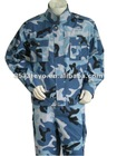Military Camouflage Uniform with ISO standard IR-resistant