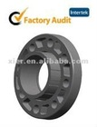 Plastic PVC ansi flange plastic to butterfly valve