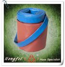 "export 3"" flexible spray pvc layflat discharge hose"