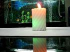 no smoke wax led candle