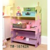 Children furniture storage shelf