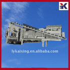 Portable construction waste crusher