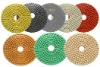 10pcs Complete Set Standard Quality 4''WET Diamond abrasive polishing pads