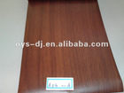 PVC decorative film with wood grain