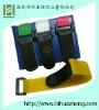 Eco-Friendly self-locking functional book straps velcro