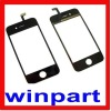 Black phone touch screen for Iphone 4G