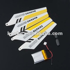 Wholesale SYMA s107 spare kits replace parts: Main Blade+Tail Blade+battery+Canopy+Tail trim+mainshaft
