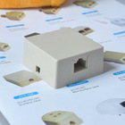 Surface mount Jack RJ11 wall socket box