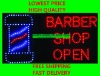 customed led sign- BARBER SHOP
