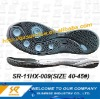 men rubber outsole for soccer shoes