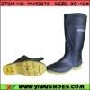 Durable PVC Men Safety Shoe