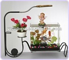 Patented fashion aquarium,artificial fish aquarium