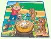 playing mat,picnic mat, pp woven mat