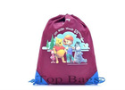 children's fancy draw string school bag