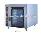 5 plate hot air rotary oven