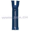 10# Crystal diamond Zipper ,Rhinestone zipper