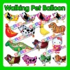 STOCK Factory outlets MIX STYLE wholesale CHEAP 2012 hot selling YOUR OWNS helium walking pet balloons