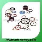 Silicone rubber compound for industrial parts