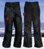Black sport electric heating Pants HYHP-001