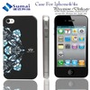 Fashion cell phone 3d cases for iPhone4/Cute western cell phone cases for iPhone/velcro cell phone case for iPhone4