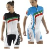 Lady 2012 New Cycling Kit Cycling Jerseys and Bib Shorts Cool Dry CWTS08