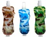 ( Camo Series ) 480ml foldable water bags,Collapsible water bag,Outdoor Sports Reusable Bottles/Bags