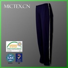 black polyester spandex casual sportswear lady pants