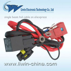 12v,24v single beam hid cable for car on aliexpress