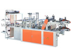 Rolled bag sealing and cutting machine