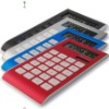 Novelty 10 digits solar and battery dual powered calculator