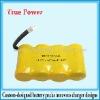 4.8V 600mAh nicd Cordless battery pack