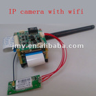 1080P H.264 cmos ip wifi camera module for HD Network video camera with 1/2.7'',FCC,CE,wifi,PoE function with IR-CUT and cable
