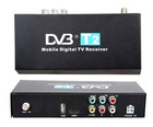 Car DVB-T2 Receiver MPEG-2 / MPEG-4 External Digital TV Box Support 40km/h Free shipping for russia and UK