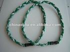 Twisted Titanium Sport Necklace