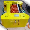 Disc floating oil recovery skimmer