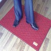 rubber entrance mat with logo