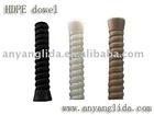 Plastic tube/railway sleepers/railway fasteners