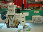 High speed twin sequin embroidery machine