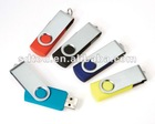portable swivel USB2.0 USB flash drives data file preload with keyring rotating usb flash drives USB Disk
