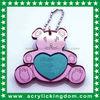 Best Friend Bear Acrylic Keyhain