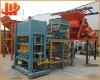 High-efficiency QT4-15 A Automatic Cement Brick Making Machinery, Paving Brick Making Machine, Curb Brick Machine