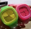 Hot sell fashionable silicone Jelly watches