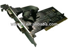 PCI to Serial Controller Card 2 PORT DB9 RS232 COM PORT MOSCHIP 9865 CHIPSET WORK WINDOWS 7