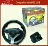 Firebolt Game Racing Wheel for PS2/PC